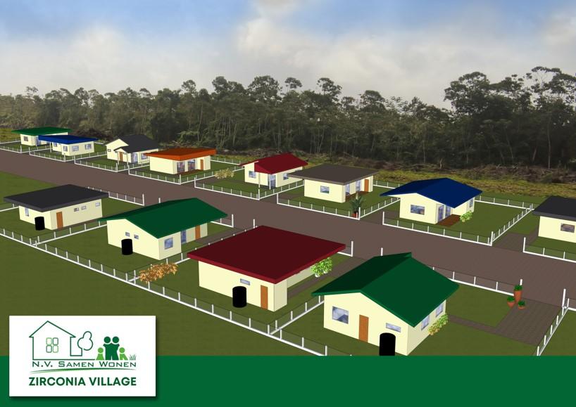Overzicht zirconia village
